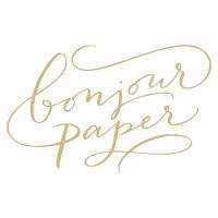 Bonjour Paper U2013 Individuelle Karten Für Eure Hochzeit